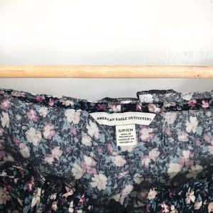 American Eagle Outfitters Tops - AEO American Eagle Floral Off the Shoulder Top